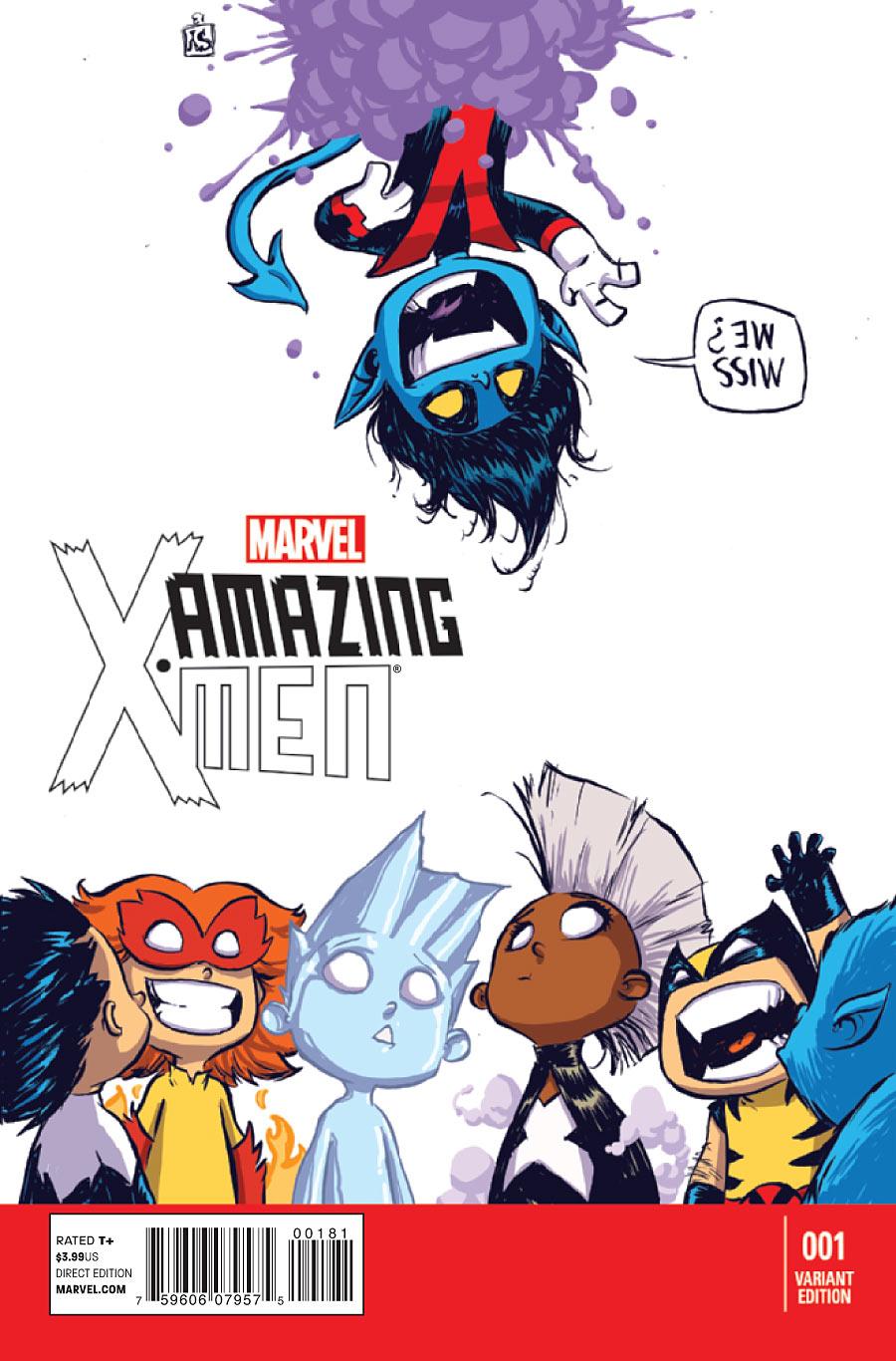 Amazing x men vol 2 1 baby variant