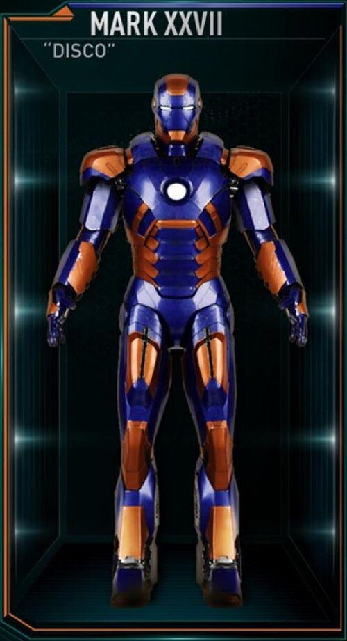 Mark Viii Iron Man Wiki Iron Man Armor Mark Xxvii
