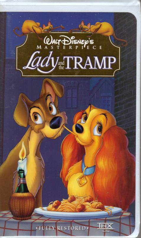 Image - Lady And The Tramp VHS.jpg - Scratchpad - Wikia