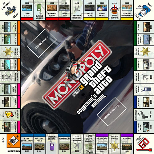 Grand Theft Auto Collector's Edition - Monopoly Wiki
