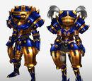 MHFG Seiryu Armor Set Renders