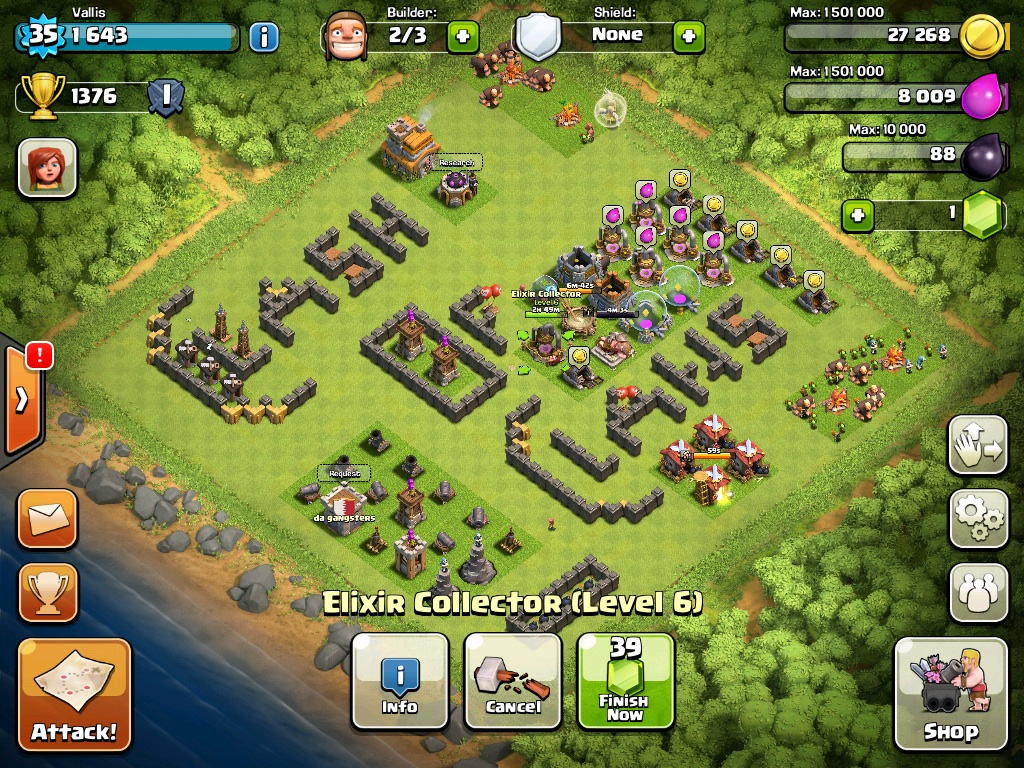 Formasi Base Clash Of Clans Terunik StillAlive