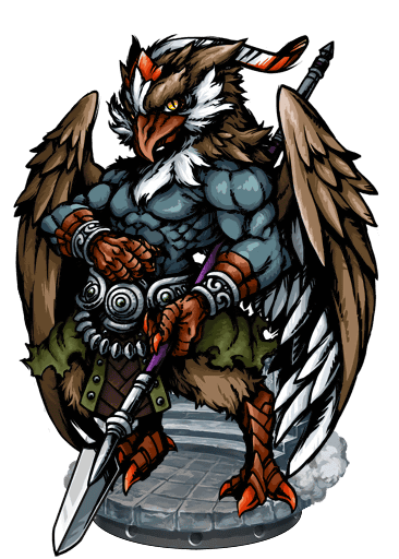 Umu Dabrutu, Eagle Warrior - Blood Brothers Wiki