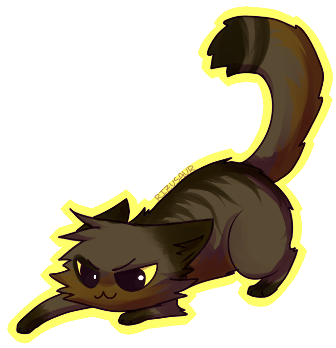 Image - Aussiereptilesrule chibi pc by rizusaur-d55n93c ...  Warrior Cat Chibi