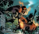 Daimon Hellstrom (Earth-616) and the Monsters of Evil (Earth-616) from Venom Vol 2 25 001.jpg