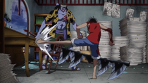 Luffy Wrecks Nami's Cartography Room