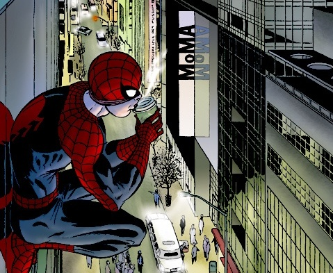 Image museum of modern spider man wiki peter for Art moderne definition