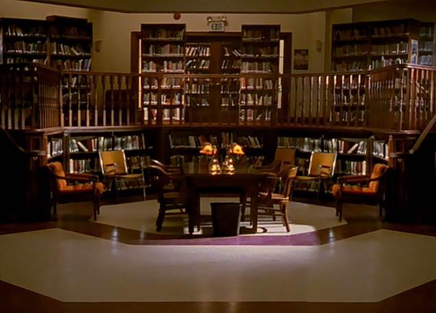 Sunnydale High School Library Buffy The Vampire Slayer