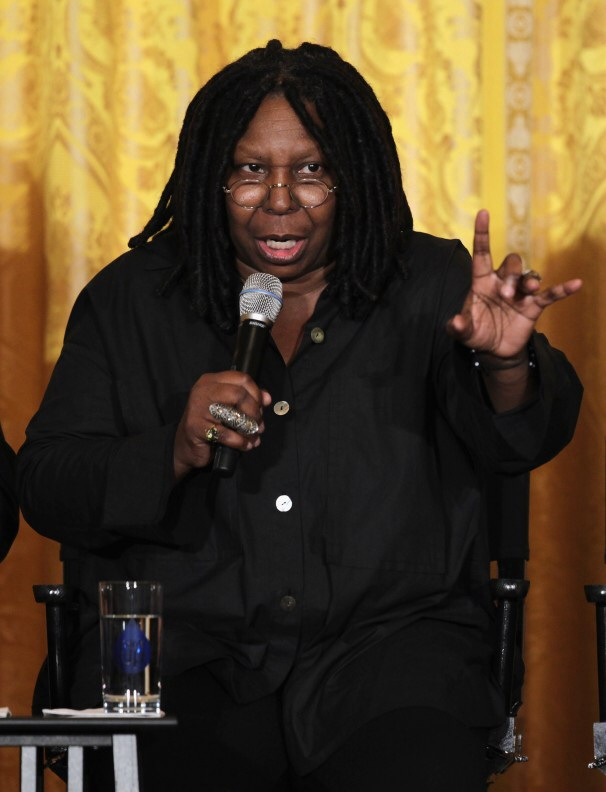 Alvin Louise Martin And Whoopi Whoopi goldberg