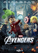 The avengers lego poster 2 9 34 мб