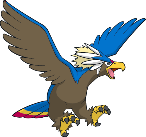 Pokémon Shiny_braviary_dreamworld_art_by_muums-d3hqw4o