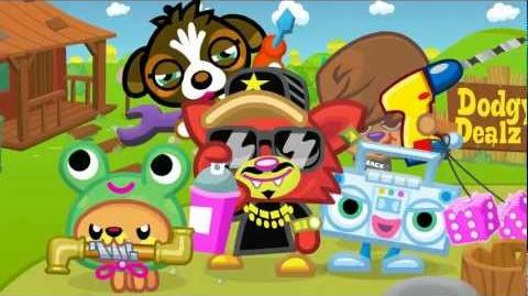"Moshi Monsters - Blingo ""Diggin' Ya Lingo"" - Official Music Video - Use Code 'BLING' For Free ROX!"