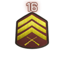 Rank 16