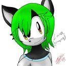 Luna the Revatail Cat