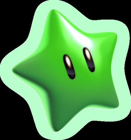 Green Power Star - MarioWiki, the encyclopedia of ...