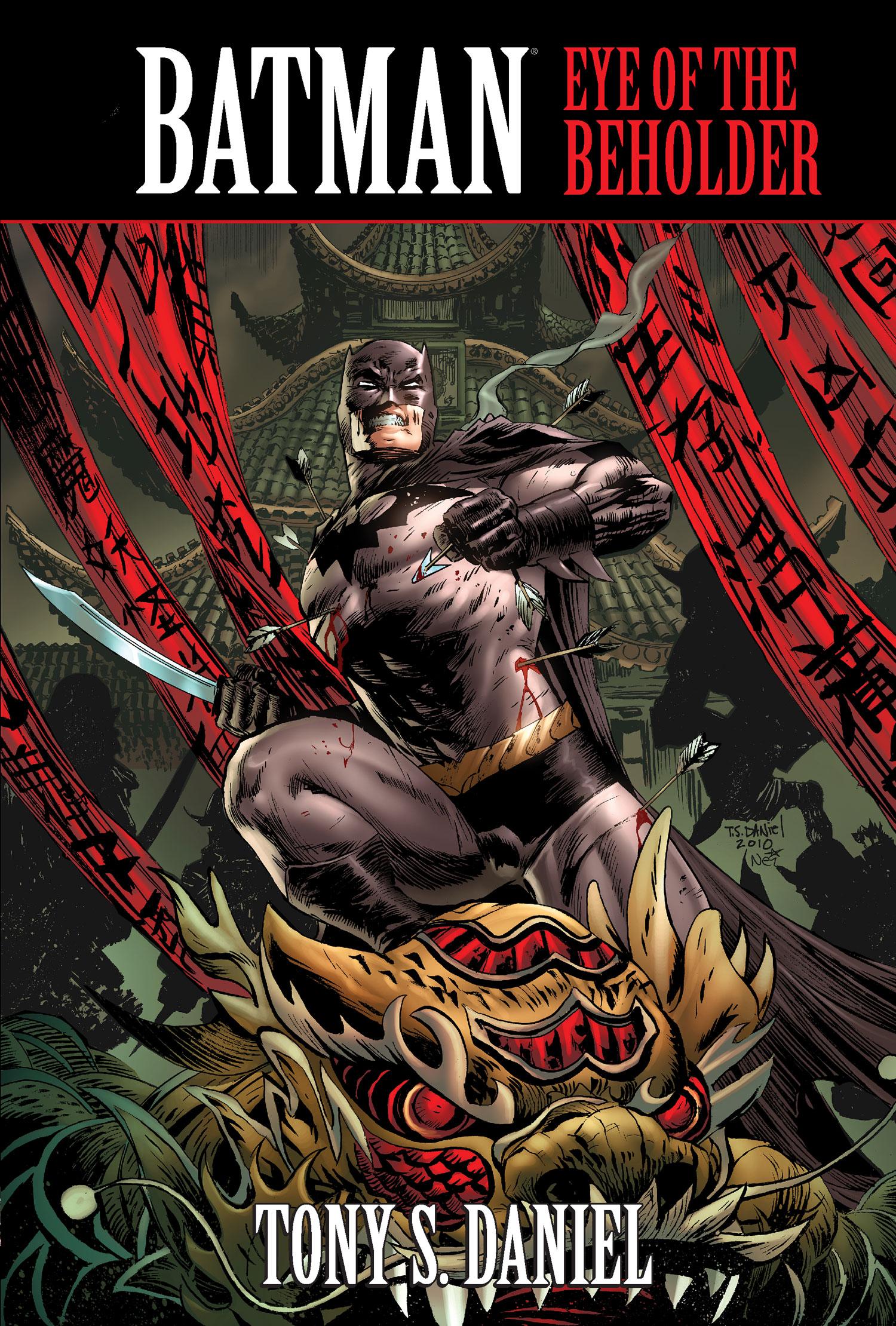 Batman Eye of The Beholder Cover For The Batman Eye of
