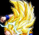 Goku ssj3 vs Vegeta ssj3