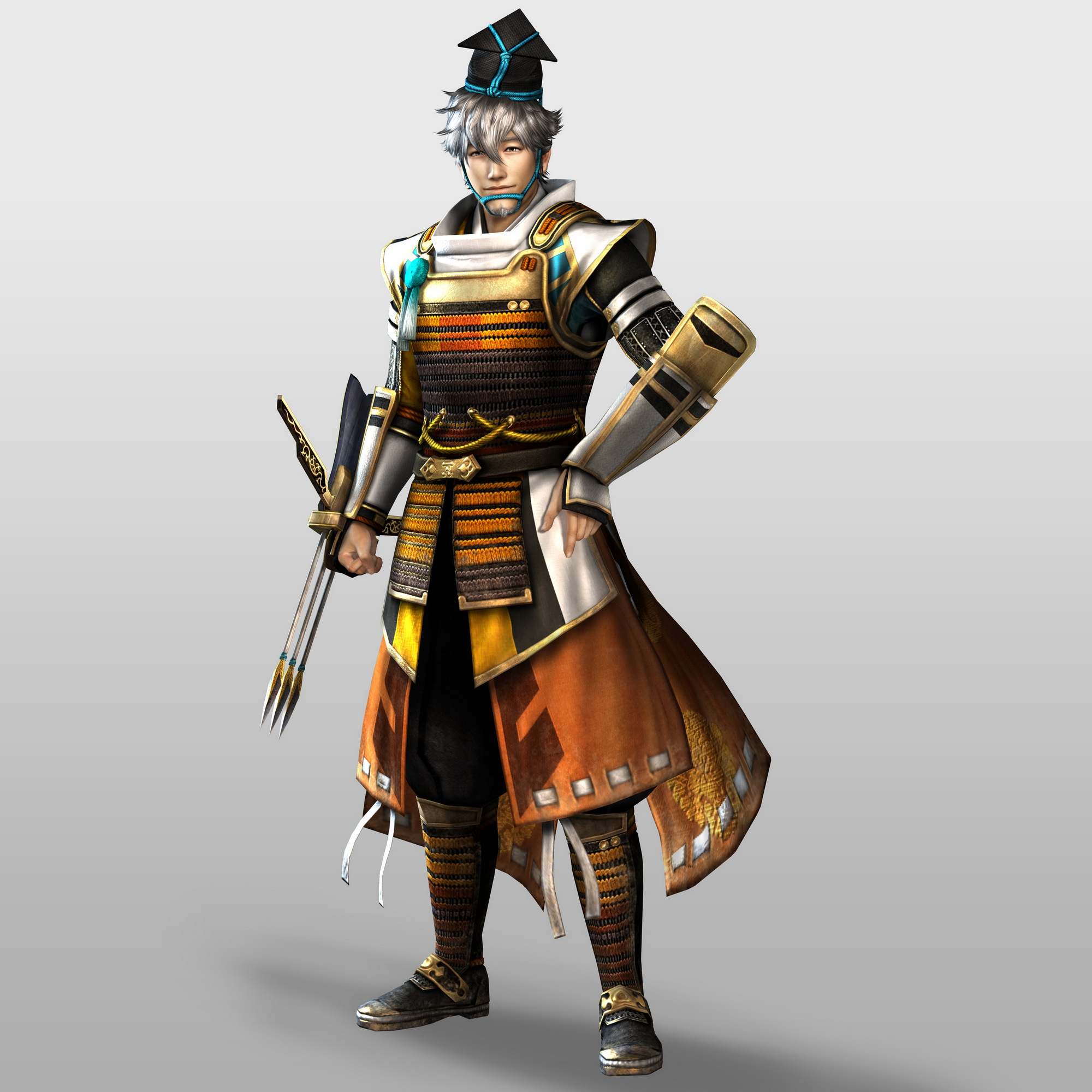 The Protectors of Ransei! *New and improved* Motonari-sw4