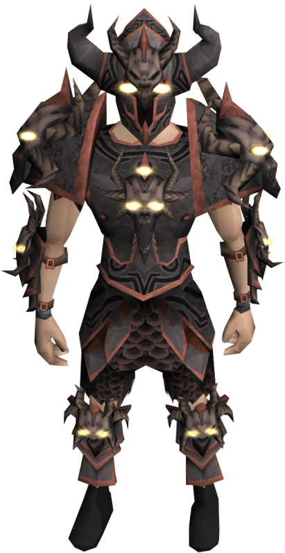 Image - Malevolent armour set equipped.png - The RuneScape ...