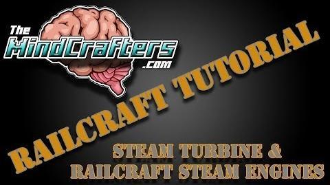 Railcraft Tutorial - Steam Turbine & Railcraft Steam Engines-1