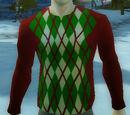 Argyle Holiday Sweater