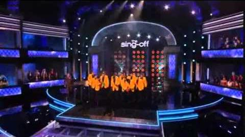 "1st Performance - The YellowJackets - ""Wavin Flag"" By K'Naan - Sing Off - Series 3"