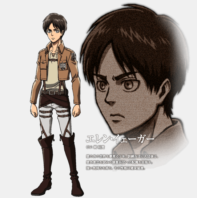 Seiyuu Attack On Titan.