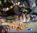 Animais da Floresta (Branca de Neve e os Sete Anões)