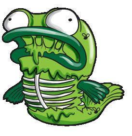 Image smelly fish png the trash pack wiki for Stinky fish in a can