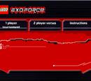 Exo-Force Codebrick Game