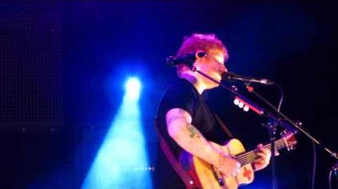"""Tenerife Sea"" - Ed Sheeran MSG HQ FIRST ROW 10 29 13"