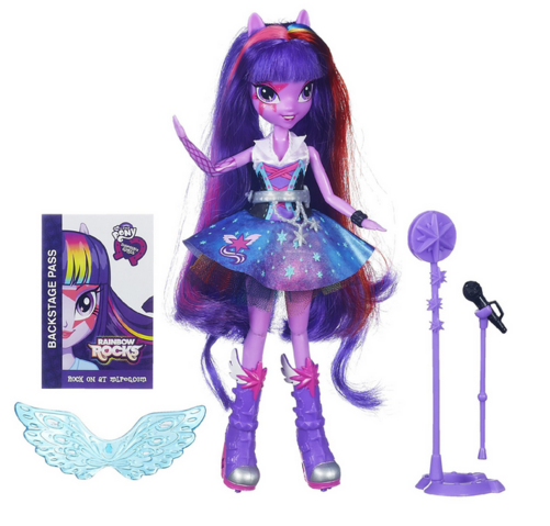 File:Twilight Sparkle Equestria Girls Rainbow Rocks singing doll.png