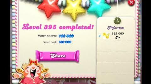 Candy Crush Saga Level 395 ★★★ NO BOOSTER-0