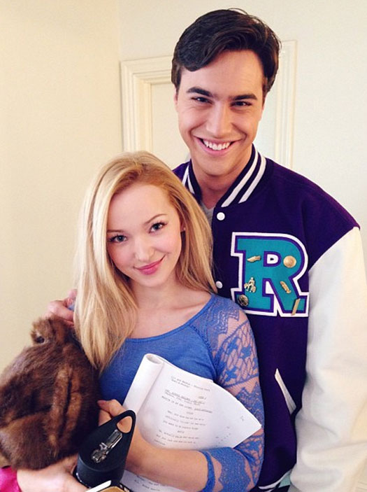 Dove Cameron with gracious, Boyfriend Ryan McCartan