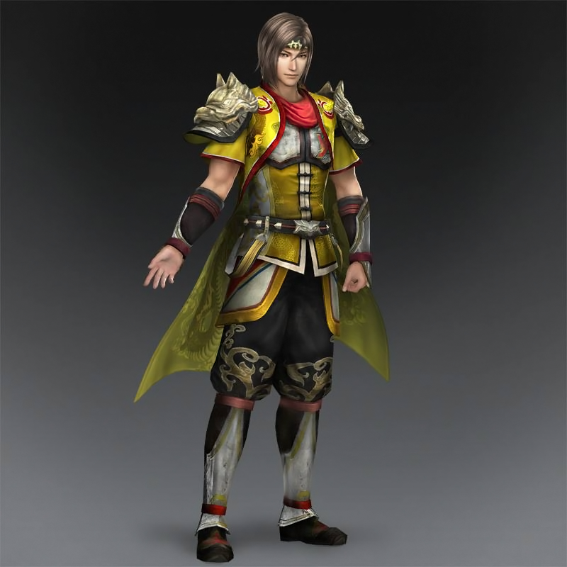 Warriors Orochi 3 Ultimate Guan Yu Mystic Weapon: Guan Xing Collaboration Outfit (DW8XL DLC).png