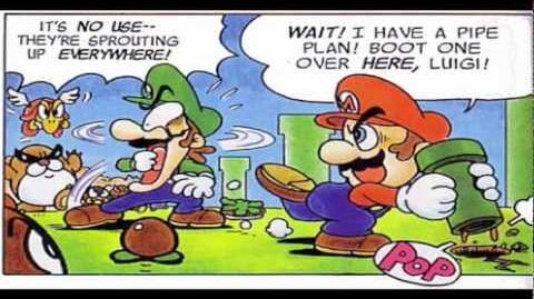 Super Mario Adventures Comic 1