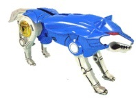 Blue wolf zord - photo#48