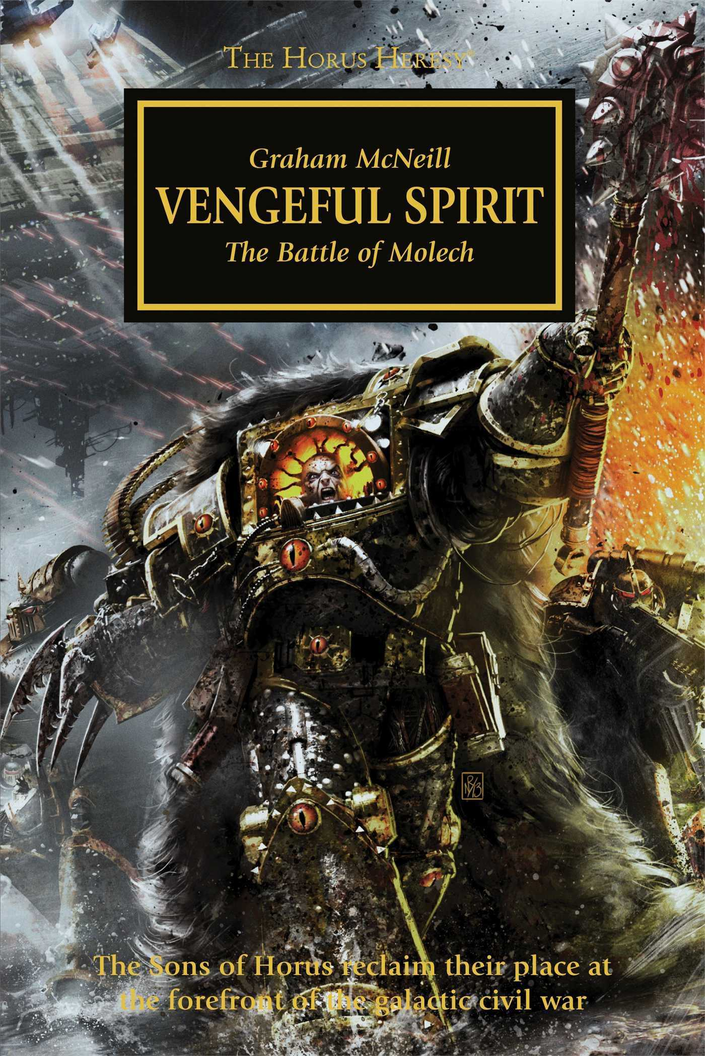 Warhammer 40k - The Horus Heresy - Vengeful Spirit - Graham McNeill