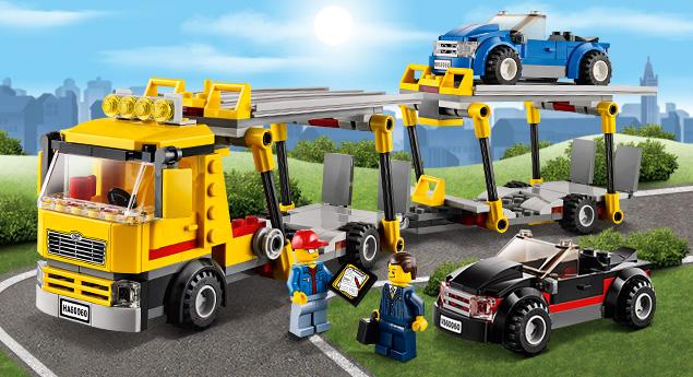 60060 le camion de transport des voitures wiki lego. Black Bedroom Furniture Sets. Home Design Ideas