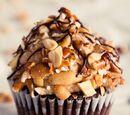 Chocolate Peanut Butter Pretzel Cupcakes