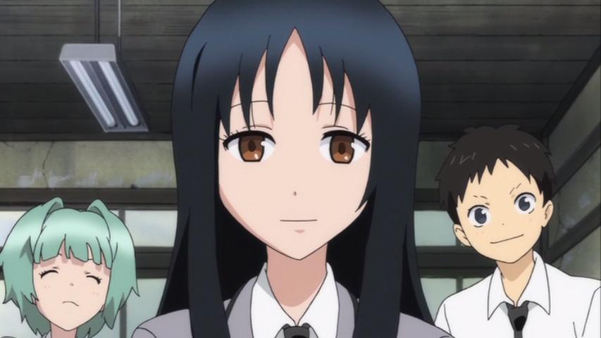 Classroom Assassination Glasses Girl