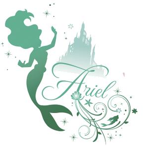 Disney Princess Ariel Silhouettes FileSilhouette ariel png