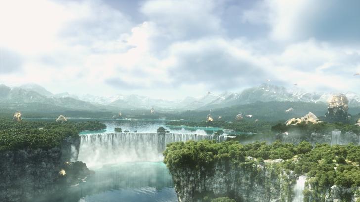final fantasy vii landscape