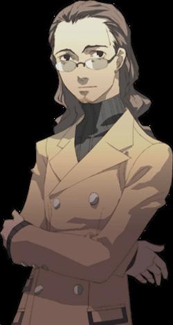 [Express] Persona 3 P3_Ikutsuki_protrait_Render