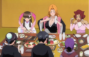 265Tobiume, Rangiku, Haineko, Katen Kyokotsu, Nanao, and Momo sit.png