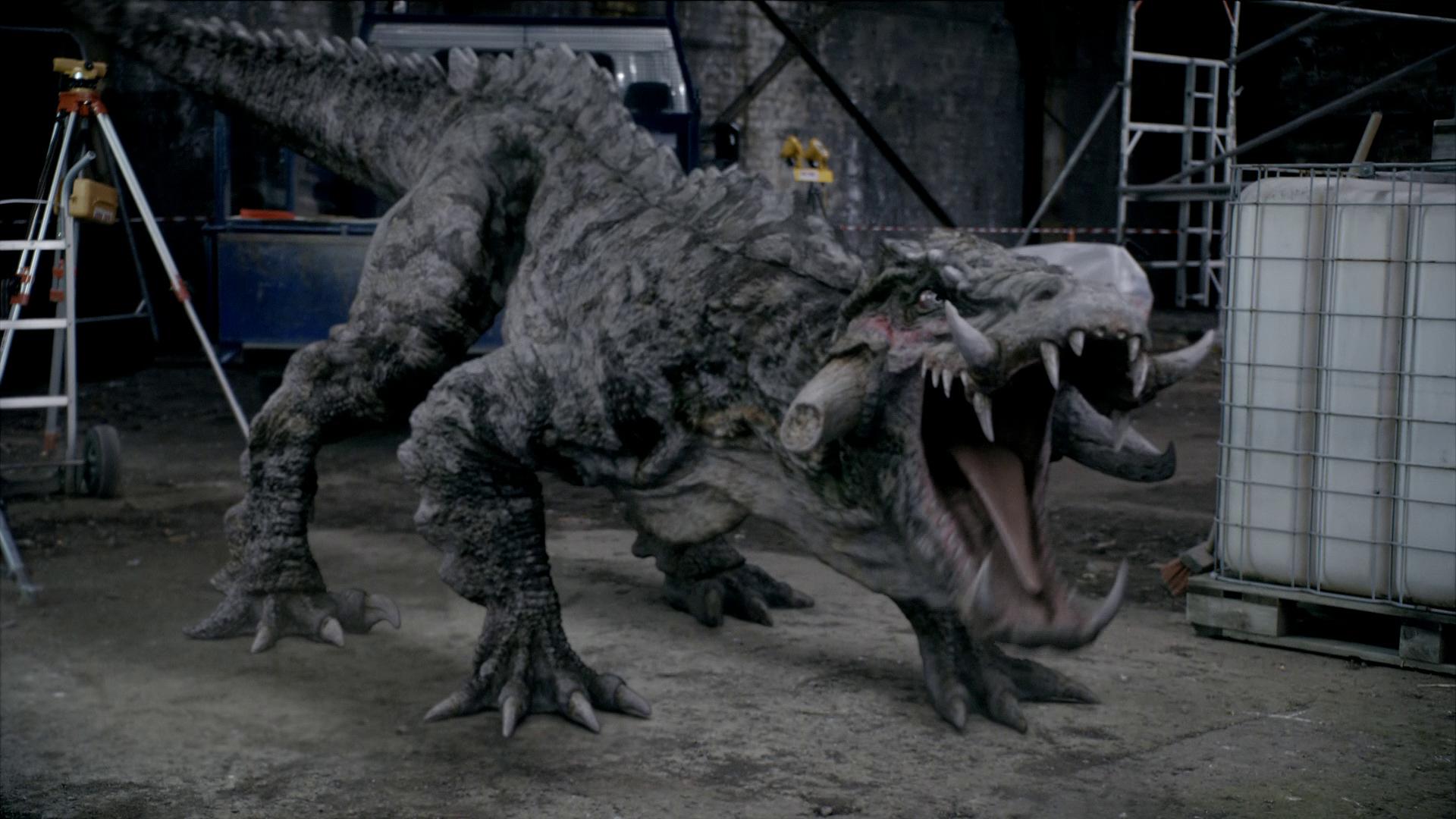 Primeval New World Albertosaurus Kaprosuchus - Anomaly ...