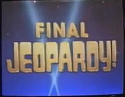 Final Jeopardy Logo Png