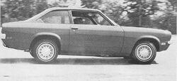 Vega Z29 MT Oct. 1971