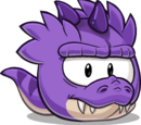 Puffle T-Rex Violeta