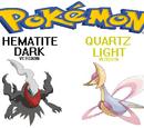 Pokemon Hematite Dark and Quartz Light